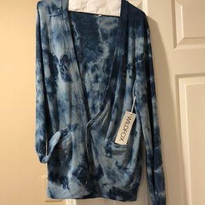 Wildfox tiedyed cardigan size M